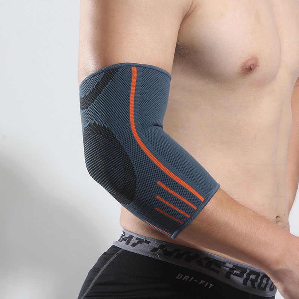 Unisex แขน Protector ยาวข้อศอกสนับสนุนการออกกำลังกาย Breathable ข้อศอกเทนนิสข้อศอก Pads วอลเลย์บอลการบีบอัดกลางแจ้ง