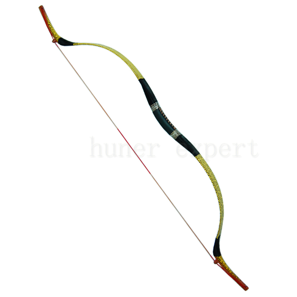 ФОТО Chinese LH RH archery recurve bow 65bs w/fiberglass bow limb snakeskin bow riser for aluminum arrows hunting