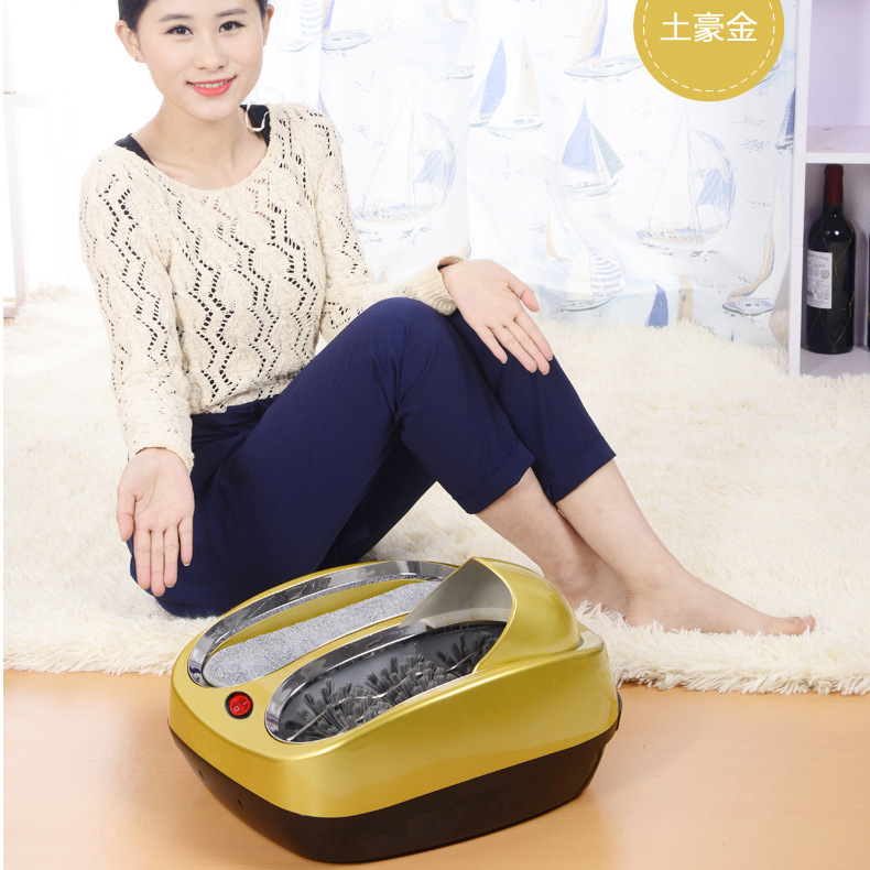 High Quality Smart Automatic Shoe Cleaner Electric Portable Shoe Polishing Machine 4 Colors Available Factory Direct Wholesale intelligent sole shoe polisher shoe cleaning machine household automatic shoe cleaner