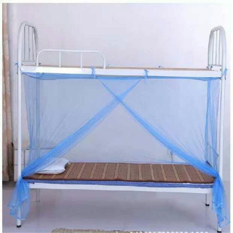 Burning Fashion White Four Corner Post Bed Camping Mosquito Net in Mosquito Net from Home Garden
