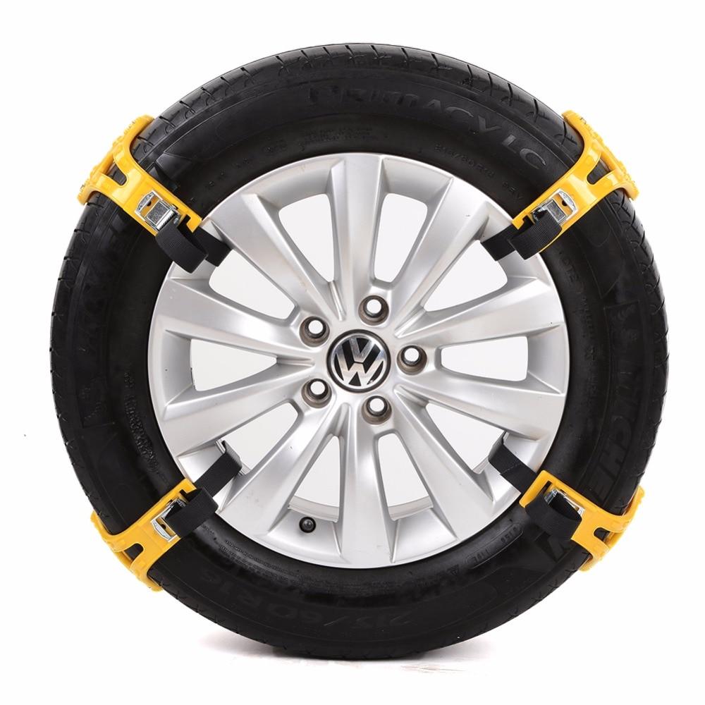 Easy Installation Simple Winter Truck Car Snow Chain Tire Anti-skid Belt Auto Maintenance Care Tool