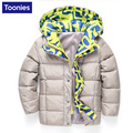 Down Jacket 2016 Children's Winter Kids Coats Fashion Casual Warm Boys and Girls Jackets Thick Fleece Outerwear Coat Clothes