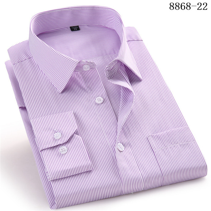 4XL 5XL 6XL 7XL 8XL Large Size Men's Business Casual Long Sleeved Shirt White Blue Black Smart Male Social Dress Shirt Plus 11