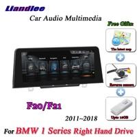 Liandlee для BMW 1 серии F20 F21 правый руль 2011 ~ 2018 Android оригинальный НБТ Радио BT gps Navi навигация Мультимедиа NO DVD