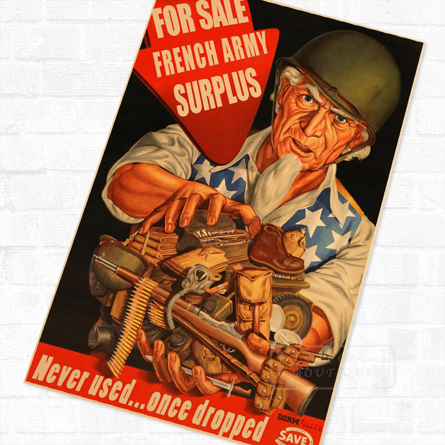 Yours For Victory Uncle Sam Wwii Ww2 Propaganda Poster Vintage Retro