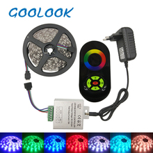 Goolook LED Strip Light RGB 5050 SMD  Waterproof RGB LED Tape Light emitting diode LED Ribbon LED RGB Strip Full Set