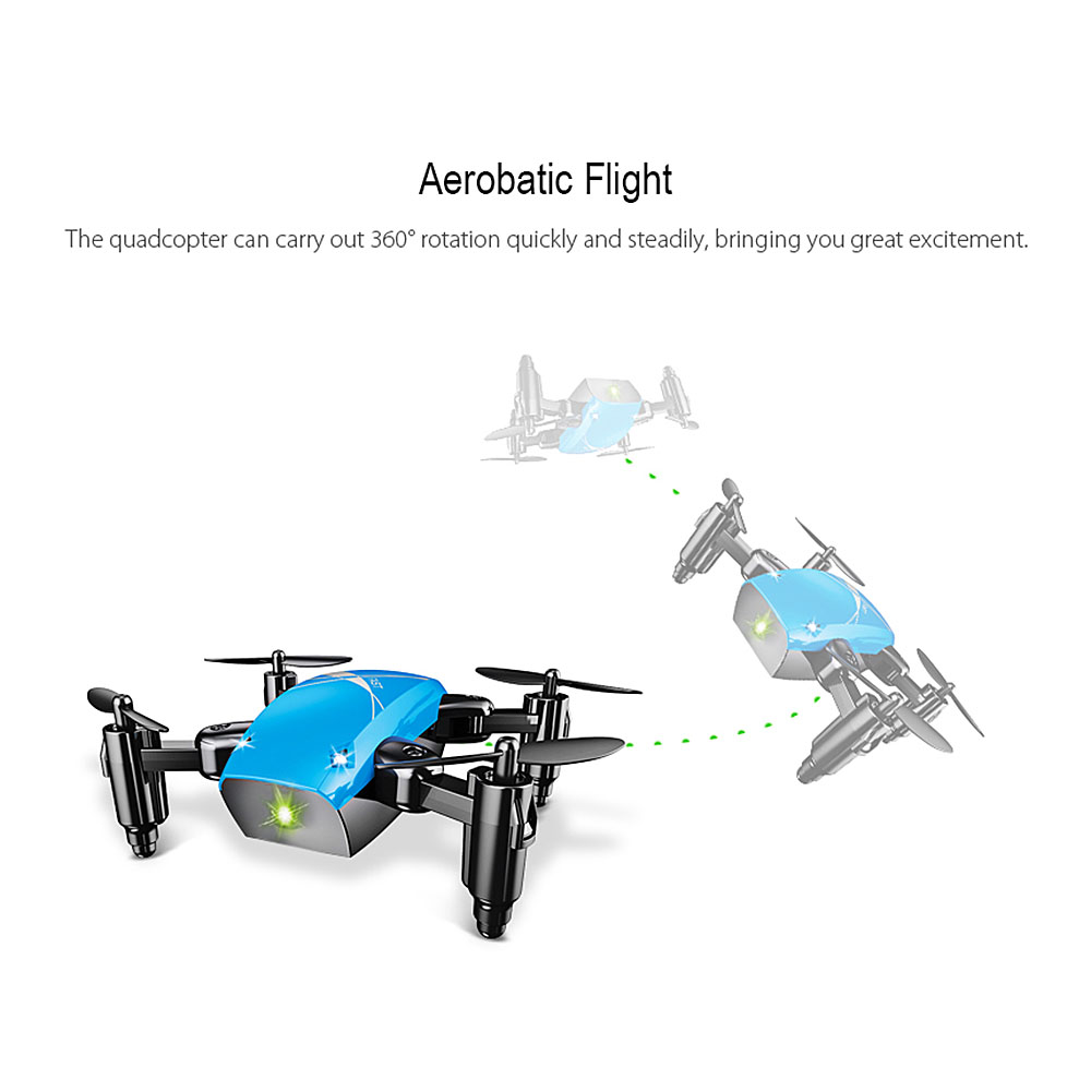 RC Quadcopter altitud helicóptero AEOFUN S9HW Mini Dron sin cámara HD S9 No plegable Cámara WiFi FPV Micro Drone bolsillo