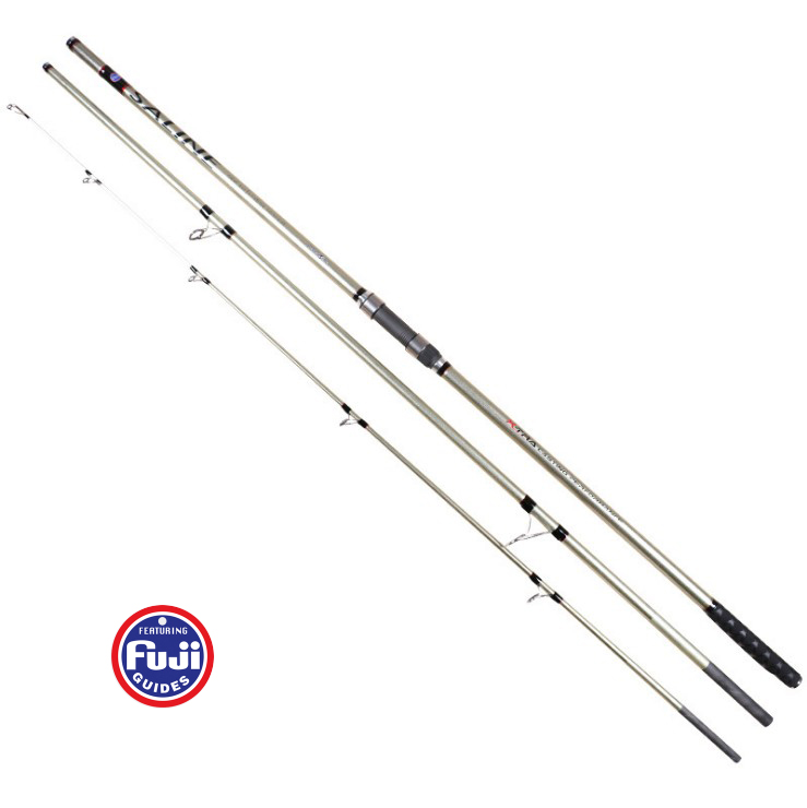 Full Fuji parts 4.2/4.5M 3 sections Carbon SURF fishing rod Distance Throwing Rod Intervene throw Anchor rod casting 100 250g