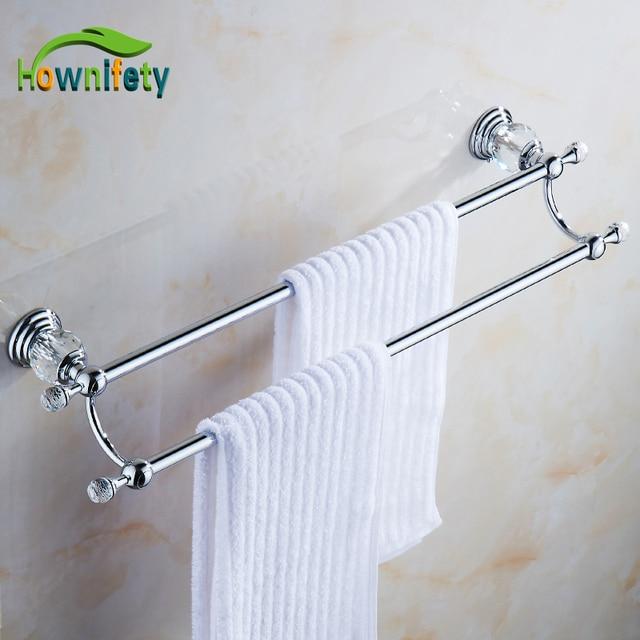 Solid Brass Bathroom Towel Rack Single Towel Bar Bathroom ...