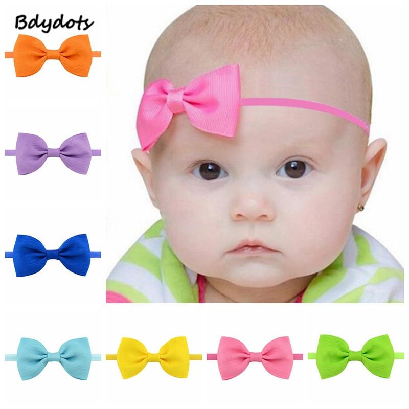 Hot Hair Band Bow Baby Girl/'s Kids Newborn Infant Princess Headband Accessories