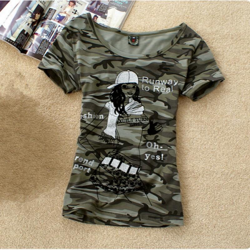 HTB1qMmNMXXXXXXUXFXXq6xXFXXXI - Summer Tops Grown Pattern T Shirt Women Camouflage