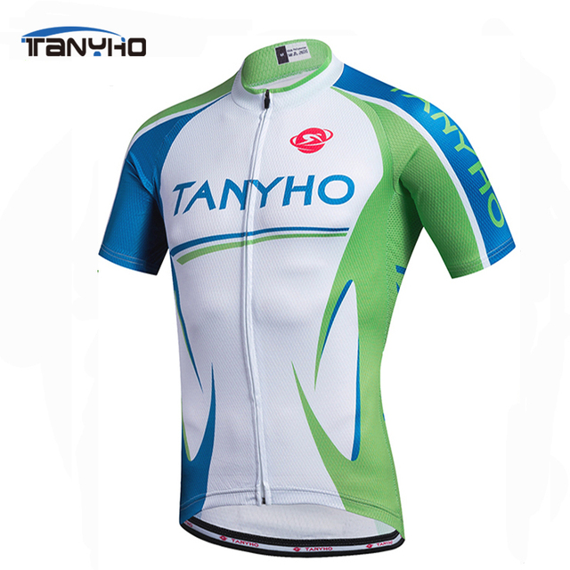 6668865dc Outdoor Sports Tanyho Breathable blue Cycling Jersey Summer Racing Bicycle  Clothing Ropa Maillot Ciclismo MTB Bike Clothes
