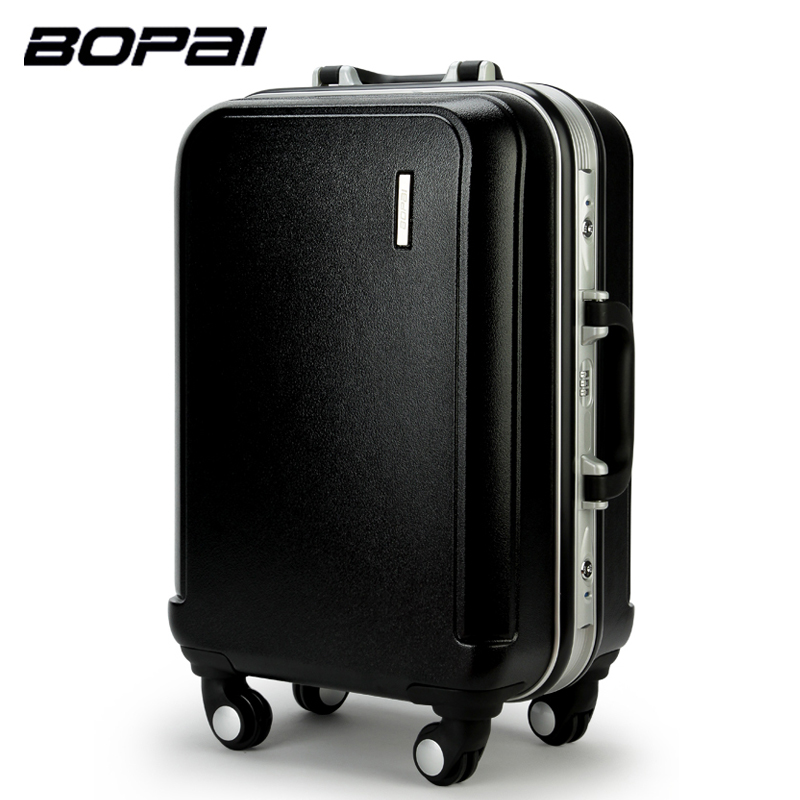24 inches trolley suitcase high quality rolling luggage large capacity travel luggage suitcase. Black Bedroom Furniture Sets. Home Design Ideas