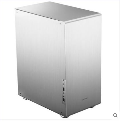 jonsbo U4 WHITE ATX chassis/aluminum enclosure/tempered glass plates jonsbo rm2 aluminum chassis atx small chassis support atx motherboard atx power supply