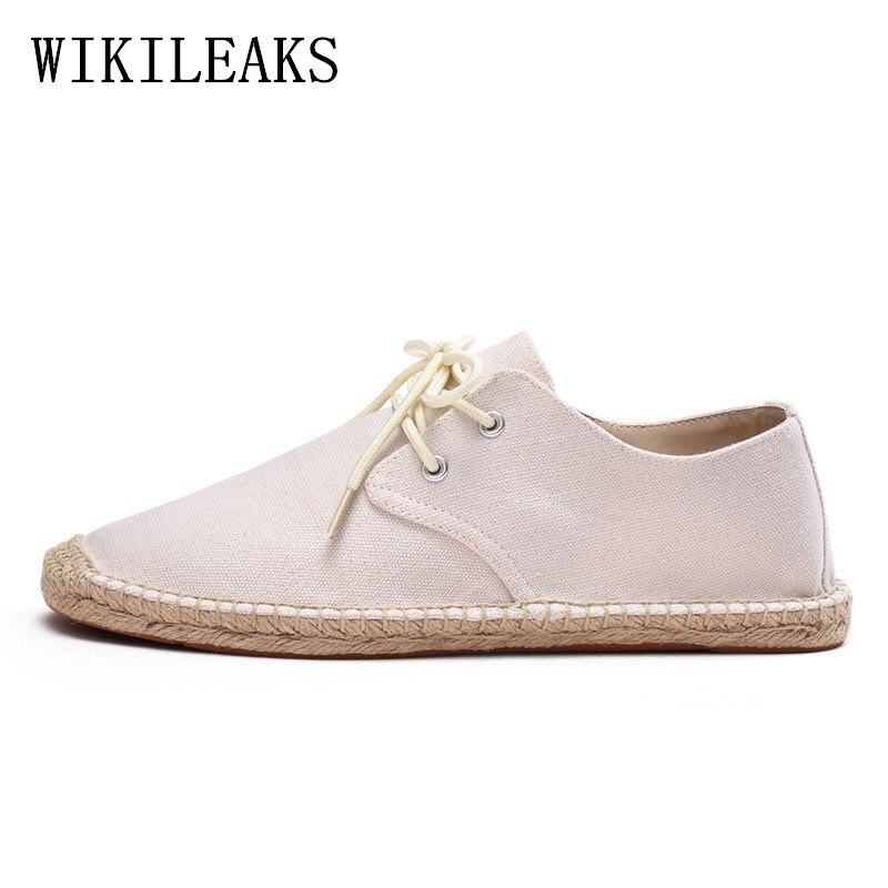 be5a4e300b6 Cheap Zapatos de diseñador para hombre, alpargatas de cáñamo, zapatillas  masculinas, zapatos casuales