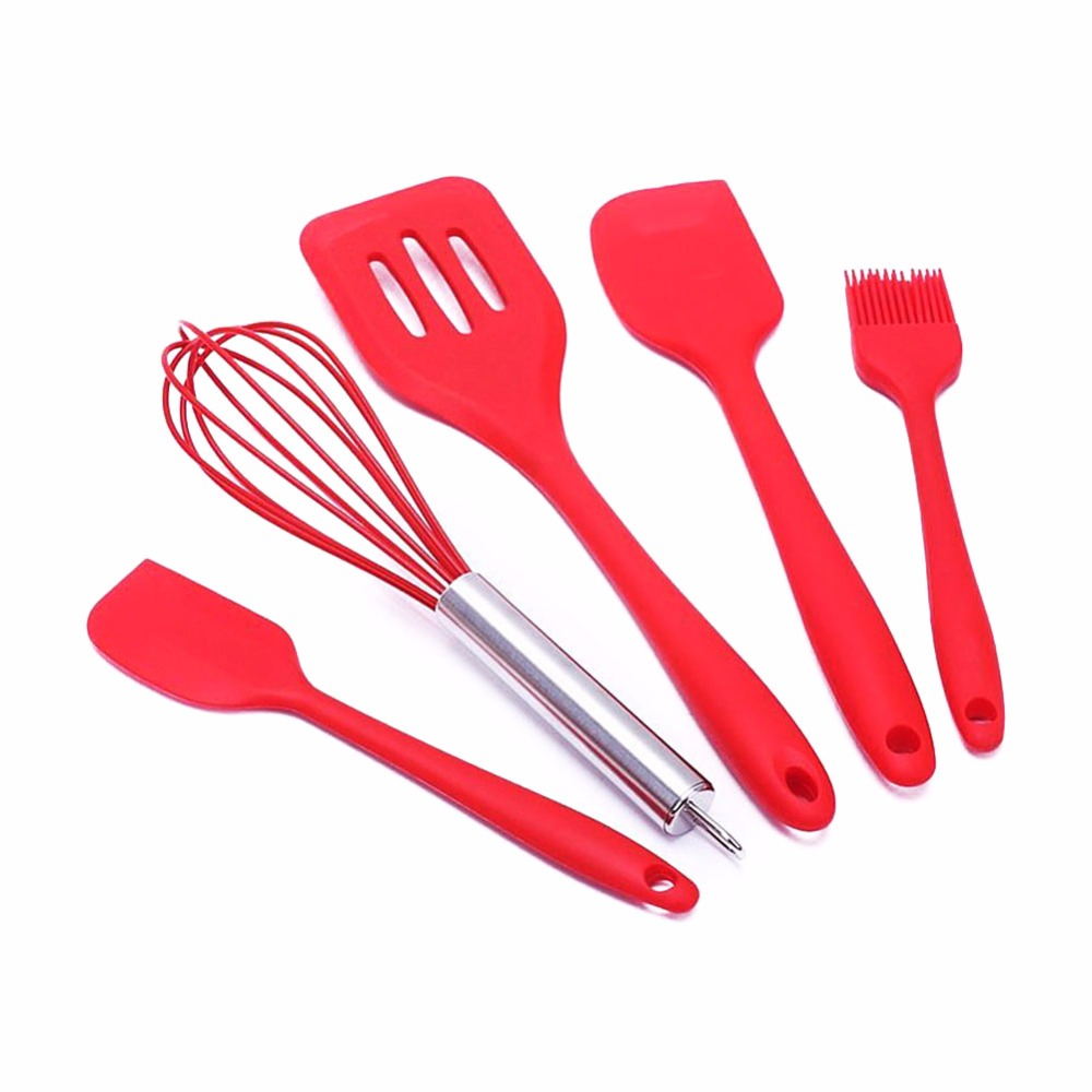 new 10pcs silicone kitchen utensils cooking utensil set spatula