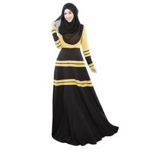 Newest Fashion Woemn Party Cocktail Maxi Kaftan Abaya Jilbab Islamic Vintage Dress