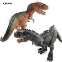 MOMEMO 1 יחידות Giganotosaurus בעלי החיים דגם דינוזאור יורה העולם פעולה & צעצוע דמויות PVC צעצועי דינוזאור בני צעצועי תחביבים