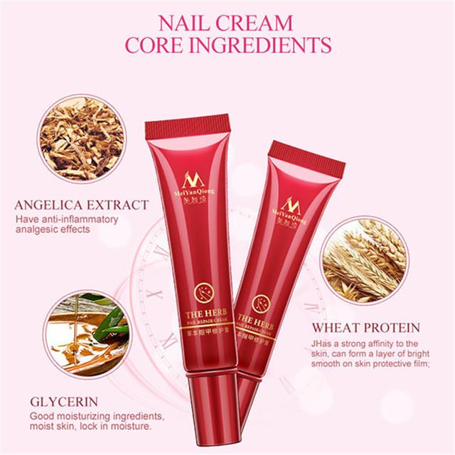 Nail Foot Protector Skin Care Cream Nail Fungus Treatment Herb Nails Repair Cream Nail Care Tools WH998
