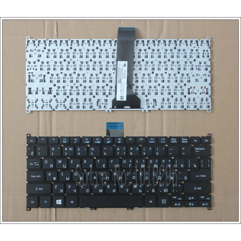 Russian <font><b>Keyboard</b></font> for Acer Aspire V3-371 V5-122 V5-122P V5-132 132P V13 E11 E3-112 E3-111 RU laptop <font><b>keyboard</b></font> without Backlit