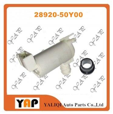 NEW Windscreen Washer Pump FOR FITNISSAN Infiniti G37 Versa Sentra NX 200SX Pickup 1.6L 1.8L 2.0L 2.4L 3.7L L4 V6 28920-50Y00