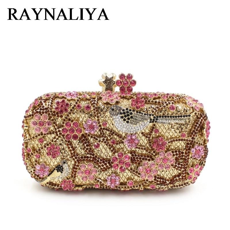 Luxury Women Makeup Bags Bolso Handmade Crystal Evening Clutch Bag Party Bridal Mini Purse ZH-A0211
