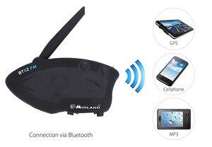 Image 2 - MIDLAND BTX2 FM Motorcycle Helmet Intercom Bluetooth Helmet Headset Motorbike 800M BT Interphone Intercomunicador Moto