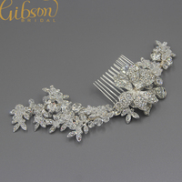 Free Shipping Elegant Rhinstone Bridal Hair Comb Hair Bride Accessories Crystal