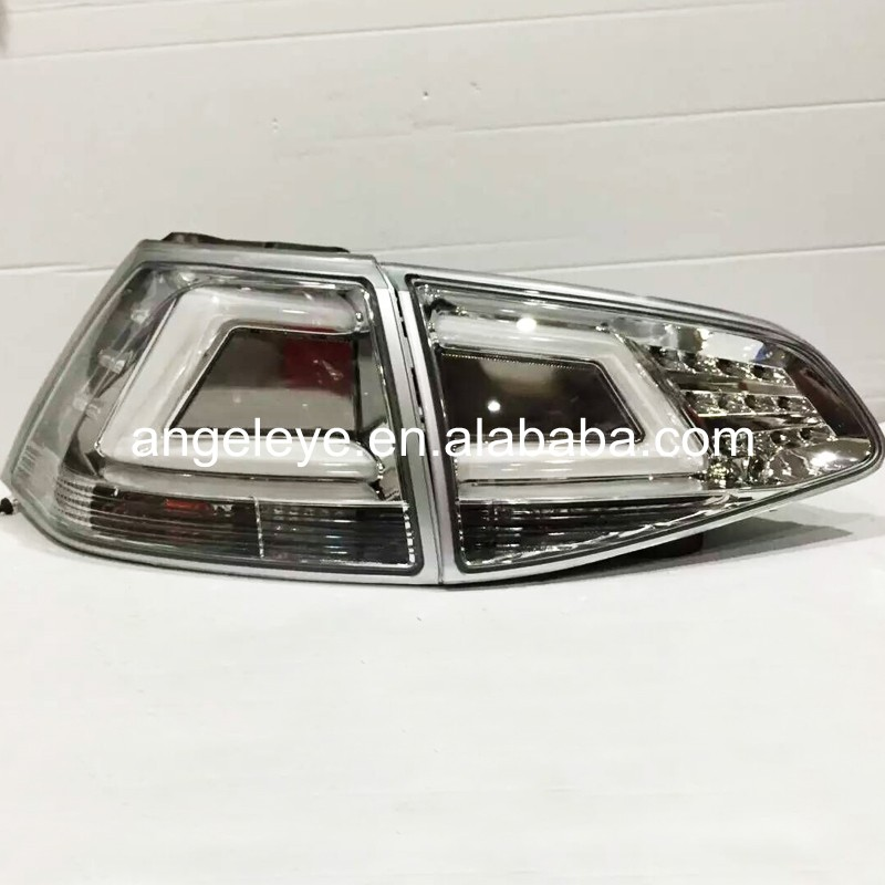 For Volkswagen for Golf 7 LED Tail Lights Rear Lamp  back light 2013-2014 year Smoke Black Color SN цена 2017