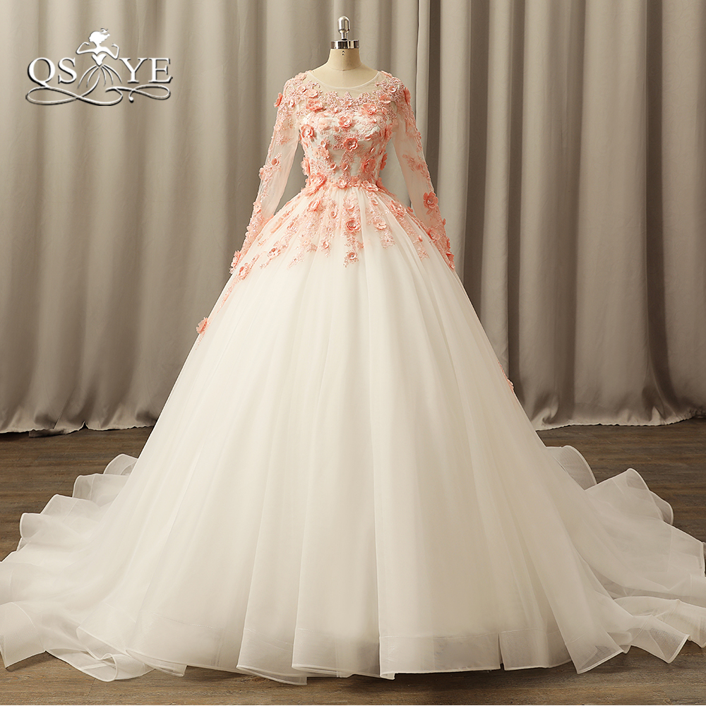 Pictures Of Ball Gown Wedding Dresses: Aliexpress.com : Buy QSYYE 2018 Vintage Ball Gown Wedding