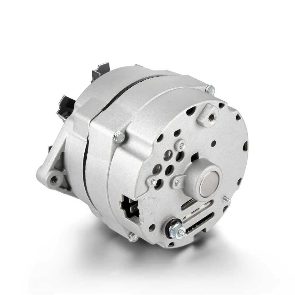 Автомобильный высоковыходной генератор для GMC 65-85 один провод 90 Ампер 90А без холостого серебра 1105607