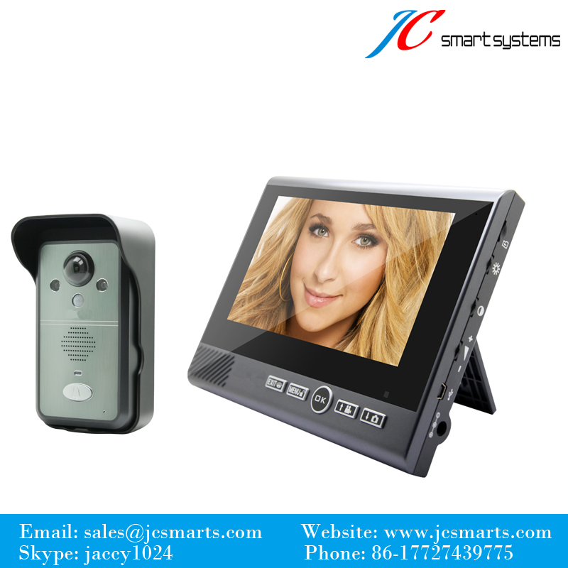 Kivos new wireless intercom doorbell video porteiro sem fios intercomunicador inalambrico doorphone door bell with camera new restaurant equipment wireless buzzer calling system 25pcs table bell with 4 waiter pager receiver