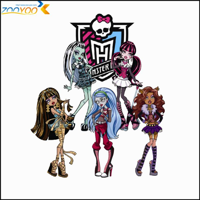 Monster High Wall Art Girls Room Home Decorations 1416 Removable