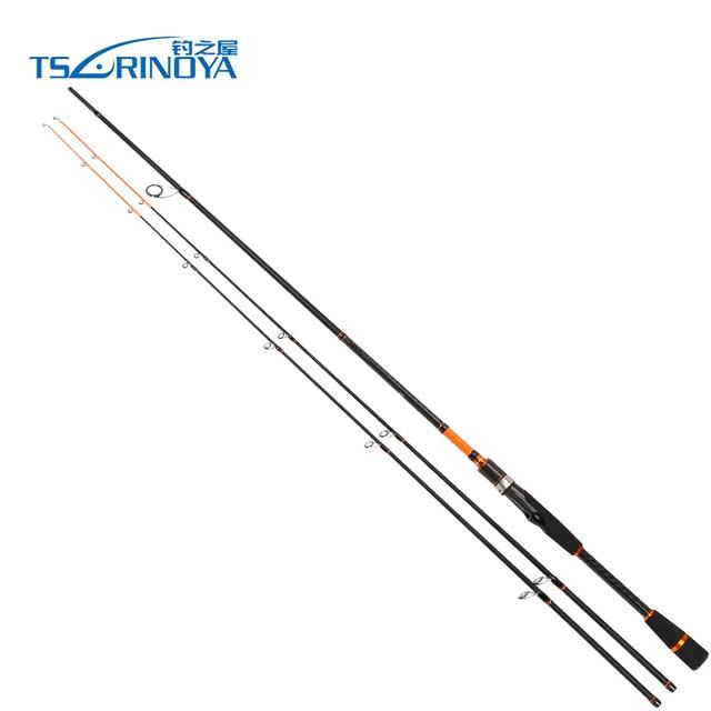 TSURINOYA JOY TOGETHER 2.1m/2.4m 2 Tips(M/ML) 2Secs Spinning Fishing Rod Fast Carbon Lure Rods Bass Pesca Olta Fishing Tackle