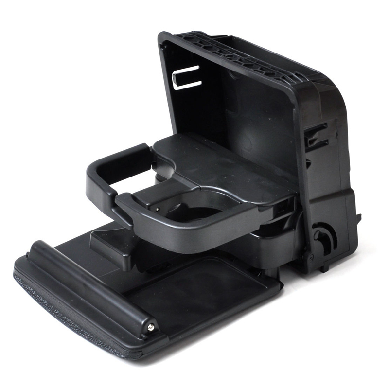 Rear Armrest Central Console Cup Holder For MK5 MK6 Black