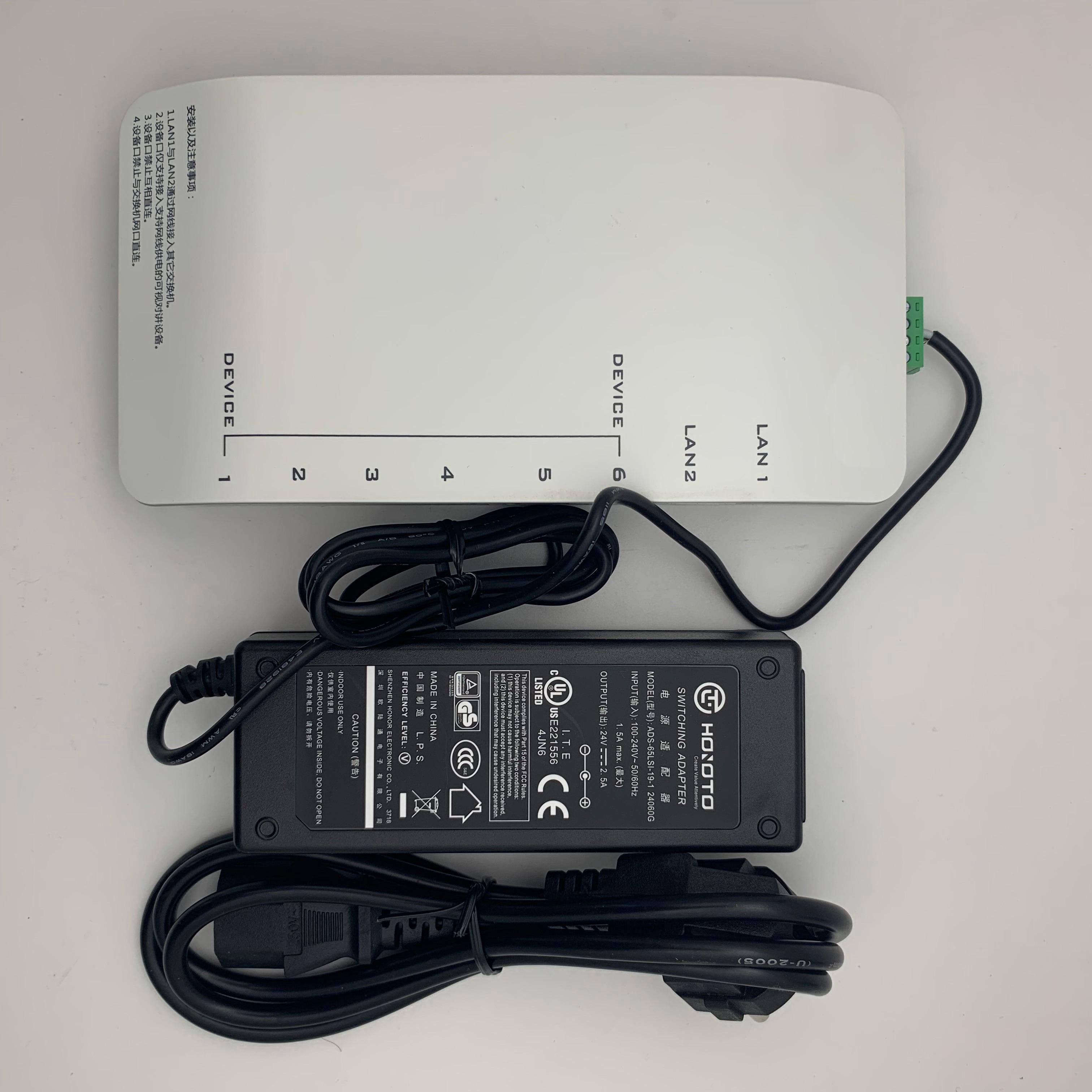 hik ds kad606 n ds kad606 p para ip video porteiro incluem adaptador alimentacao 02