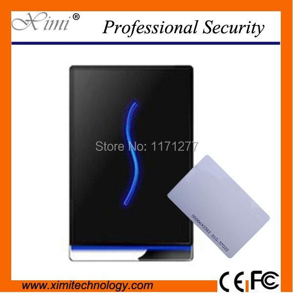 SCR100 USB communication lock control alarm exit button door sensor M1 card reader access control system shanghai chun shu chunz chun leveled kp1000a 1600v convex plate scr thyristors package mail