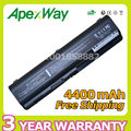 Apexway batería de 6 celdas para hp presario cq41 cq45 cq50 cq60 para pavilion g50-100 484170-001 485041-001 485041-002 482186-003