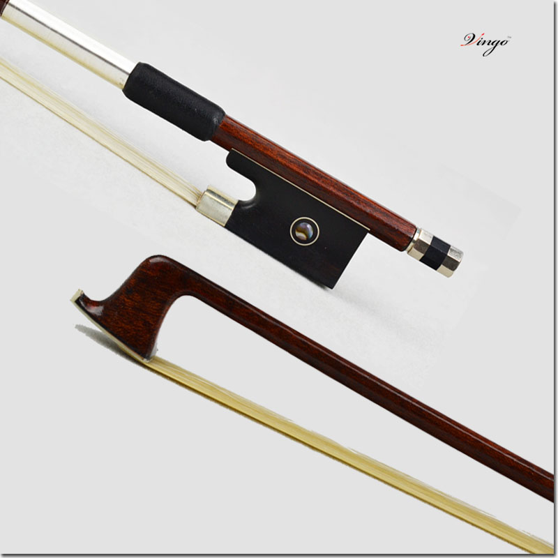 4/4 New 120V VIOLIN BOW Carbon Fiber core Pernambuco Skin Stick Nice Quality Ebony Frog and Hair Straight Violin Accessories 1 4 size 812vb pernambuco violin bow high density ebony frog with nickel silver good quality hair straight violin accessories