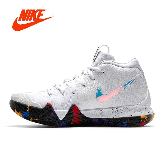 newest collection 45783 a7f10 Original Nouvelle Arrivée Authentique Nike KYRIE 4 EP Irving 4th Génération  Mens Basketball Chaussures Sport En
