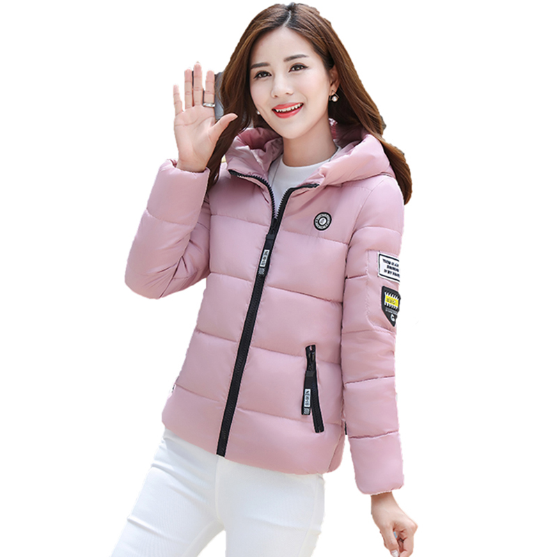 2017 New Fashion Short Women Cotton Coats Slim Warm Female Jackets Wadded Padded Overcoat Outwear Winter Down Cotton Coat FP0036 2017 new winter coats women winter short parkas female autumn cotton padded jackets wadded outwear abrigos mujer invierno w1492