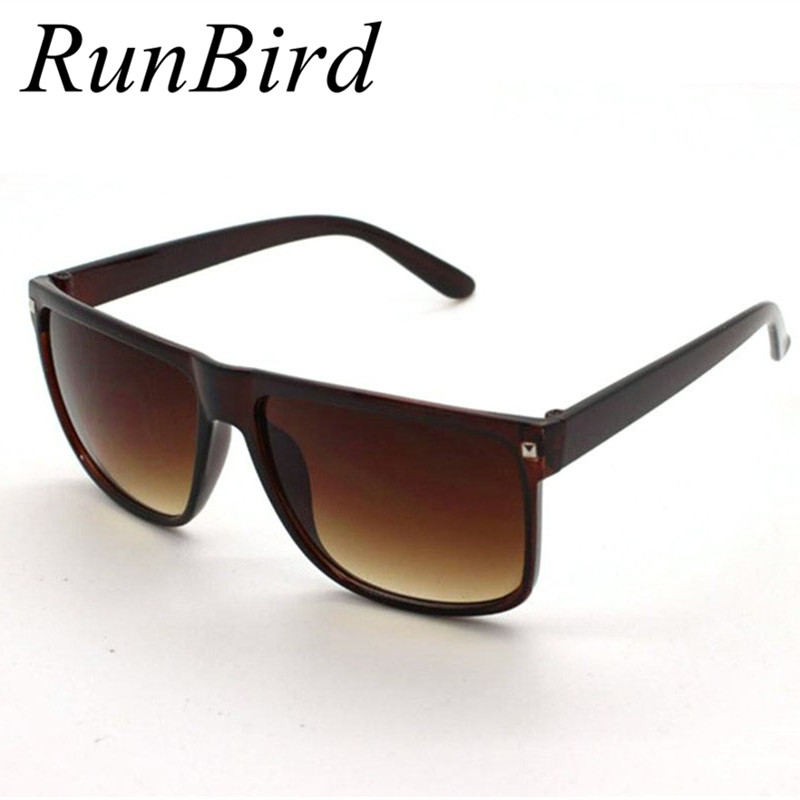 The lowest price big square frame flat top 2016 new fashion sunglasses women men retro sun What style glasses are in fashion 2015