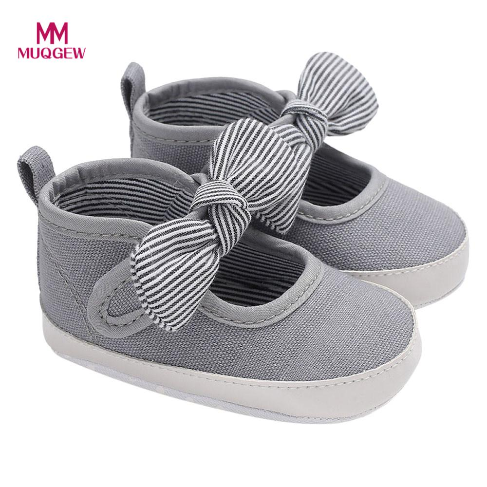 baby bootees for babies Infant Kids Girl Bowknot Soft Sole Crib Toddler Newborn Shoes Butterfly-knot Fashion Element dropshippin