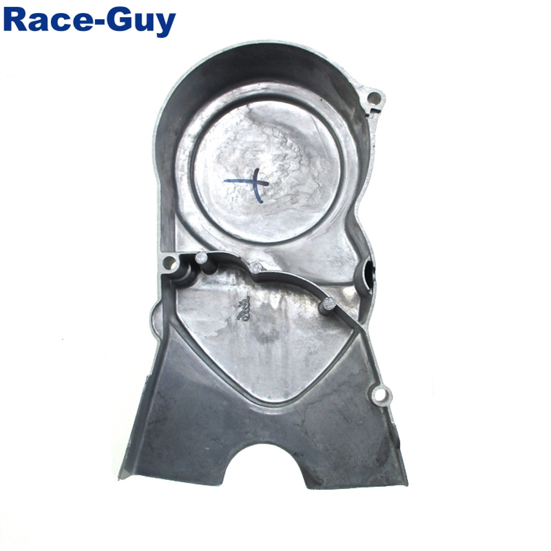 Race-Guy Left Engine Stator Cover For 50cc 70cc 90cc 110cc 125cc Chinese Dirt Pit Bike Such As Chinese Made CRF50 XR50,SSR,YCF,IMR,Atomik,Thumpstar,BSE,Apollo,Kayo,Stomp,Piranha,DHZ,GPX,Pitster Pro,SDG,Braaap,Taotao,Coolster,Roketa,Lifan,YX.