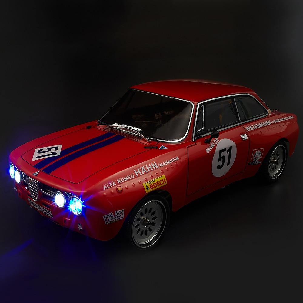 48251 de 257mm AlfaRomeo 2000 GTAm terminado RC coche cuerpo Shell para 1/10 eléctrico gira RC coche de carreras piezas de DIY-in Partes y accesorios from Juguetes y pasatiempos    2