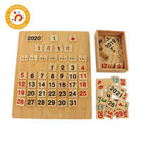 Baby Toy Montessori Material The Calender Children Cognitive Time Kid Teaching Aids