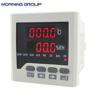 WSK302 72 72mm Temperature And Humidity Controller For Industrial Use