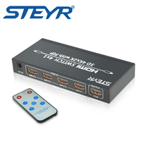 STEYR HDMI Switch 4Kx2K 4 Ports 4x1 HDMI Switcher 4 In 1 Out With PIP Picture