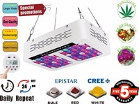 600W 1200W 1800W 2400W LED Grow Lights Programmable Timer Control Full Spectrum Plant Growing Light for Veg and Flower