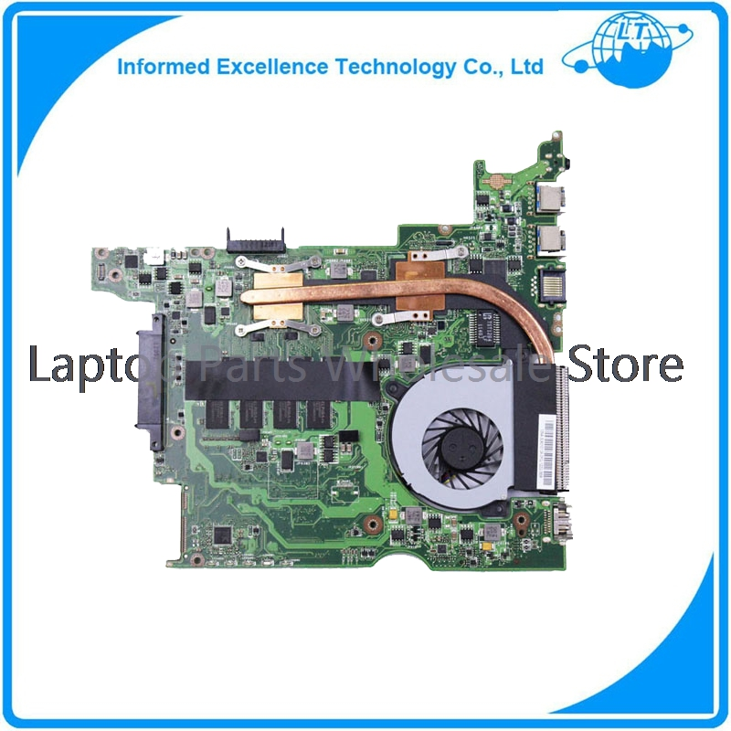 For  ASUS 1225B Laptop Motherboard with cooling fan, 1225B mainboard for asus a8se laptop motherboard mainboard 100